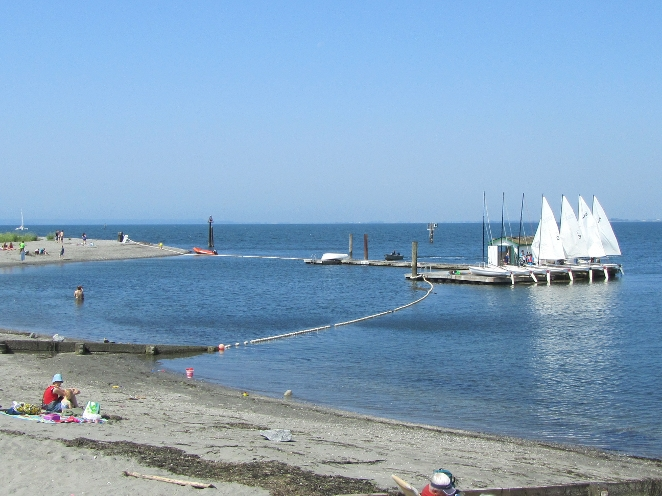 Crescent Beach has a lot to offer with miles of paths for walking & biking, restaurants, water sports, swimming, sailing, marina & dog park